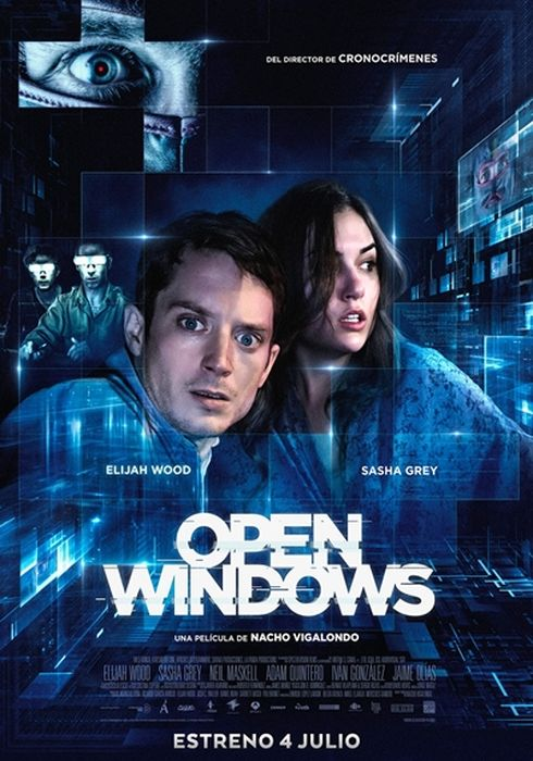 Cartel oficial en español de: Open Windows