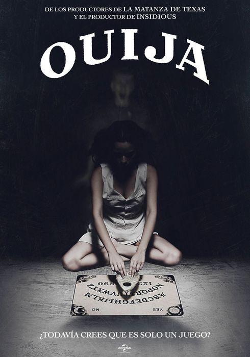 Cartel oficial en español de: Ouija