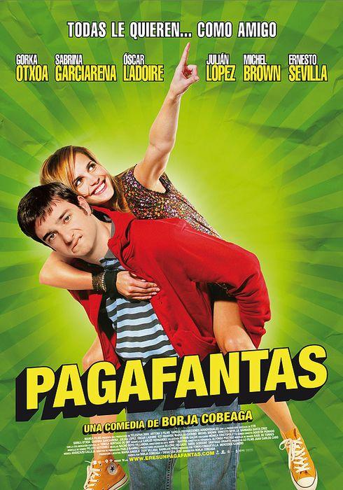 Cartel oficial en español de: Pagafantas