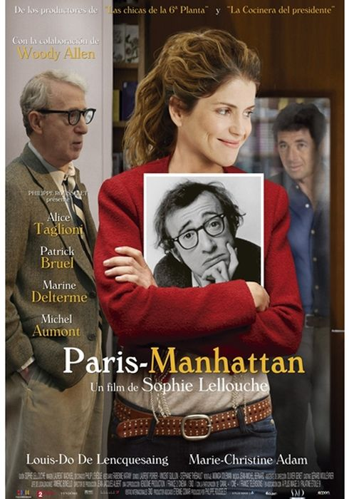 Cartel oficial en español de: Paris-Manhattan