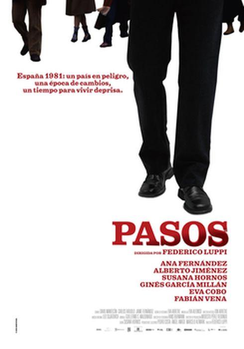 Cartel oficial en español de: Pasos