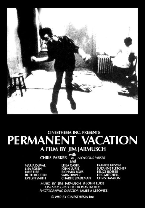 Cartel oficial en español de: Permanent Vacation