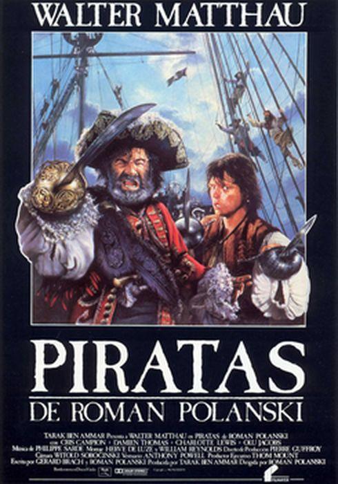Cartel oficial en español de: Piratas