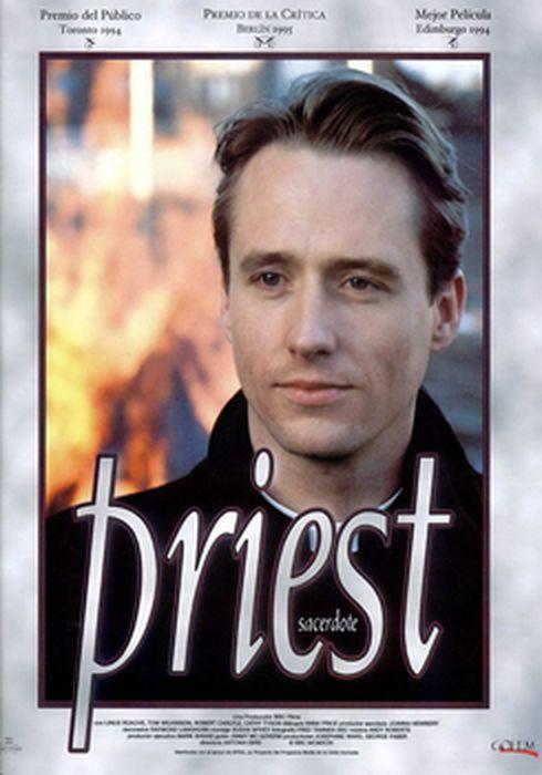 Cartel oficial en español de: Priest (Sacerdote)