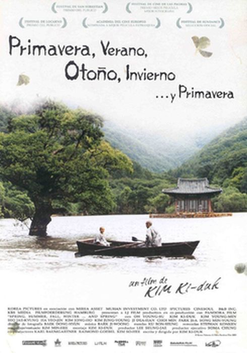 Cartel oficial en español de: Primavera, verano, otoño, invierno... y primavera