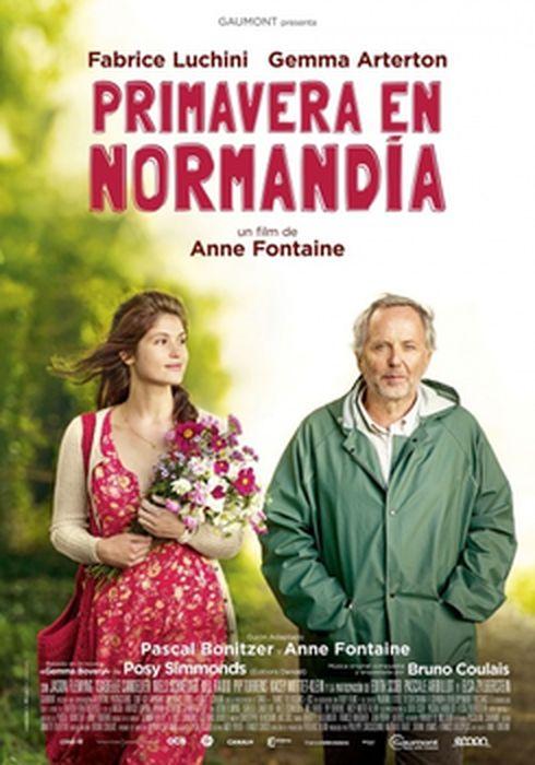 Cartel oficial en español de: Primavera en Normandía