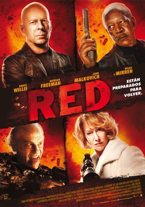 Cartel oficial en español de: RED