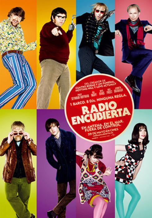 Cartel oficial en español de: Radio encubierta