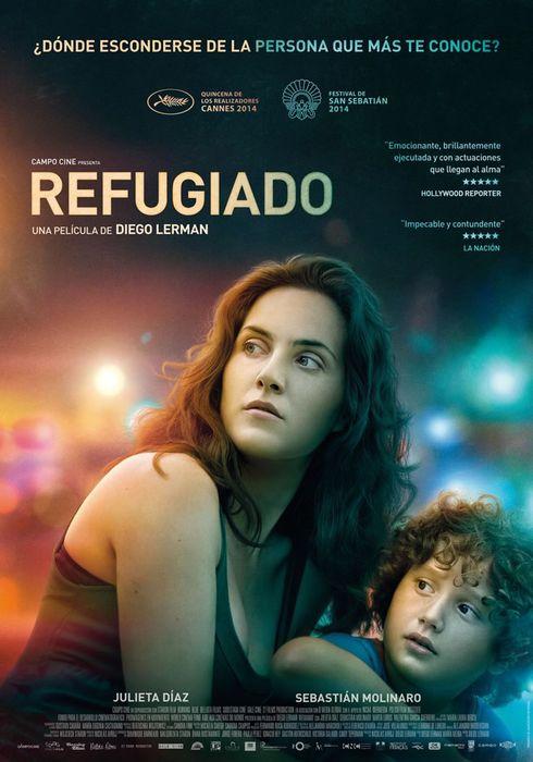 Cartel oficial en español de: Refugiado