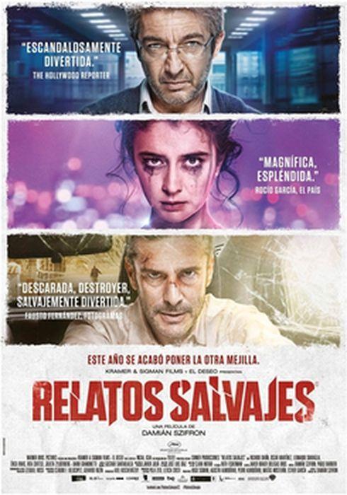 Cartel oficial en español de: Relatos salvajes