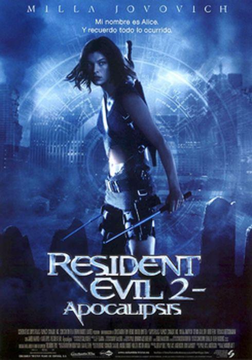Cartel oficial en español de: Resident Evil 2: Apocalipsis