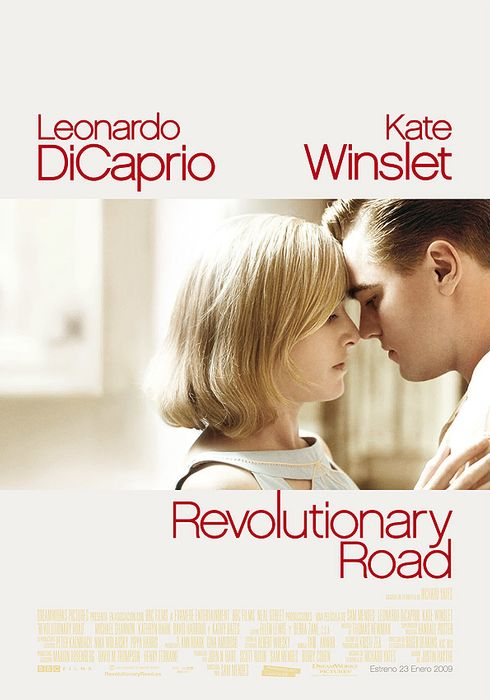 Cartel oficial en español de: Revolutionary Road