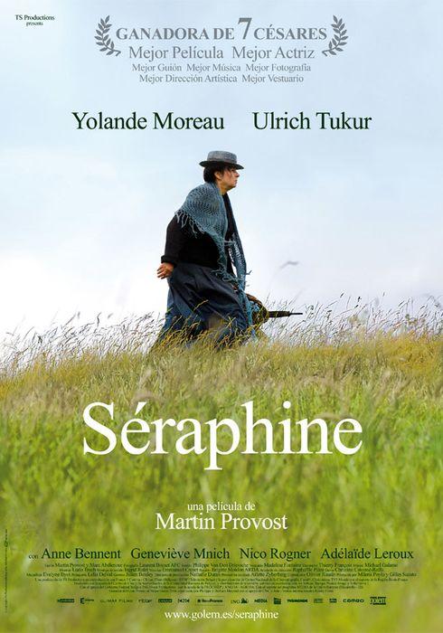 Cartel oficial en español de: Séraphine