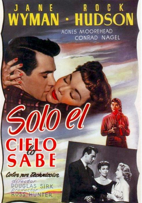 Cartel oficial en español de: Sólo el cielo lo sabe