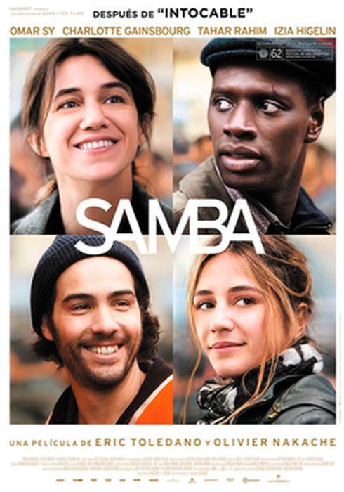 Cartel oficial en español de: Samba
