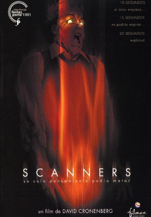 Cartel oficial en español de: Scanners