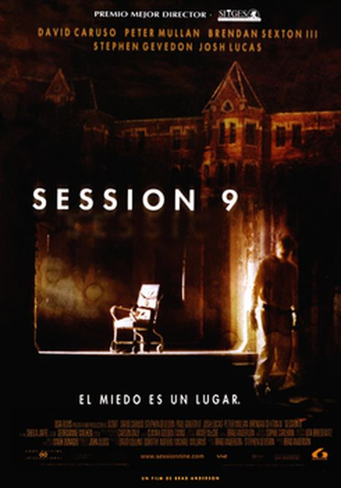 Cartel oficial en español de: Session 9