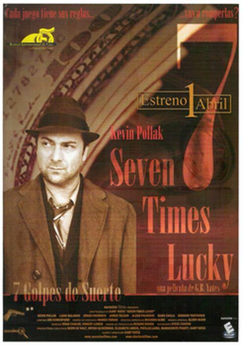 Cartel oficial en español de: Seven times lucky