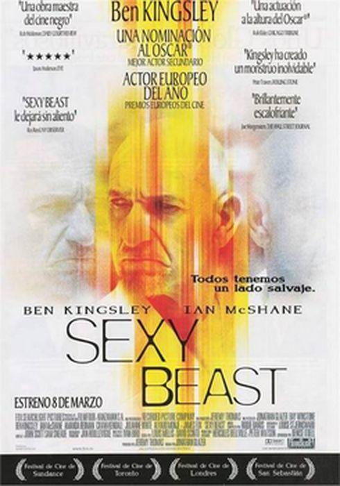 Cartel oficial en español de: Sexy Beast