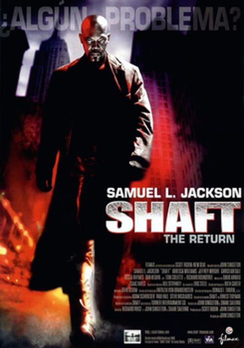 Cartel oficial en español de: Shaft. The Return