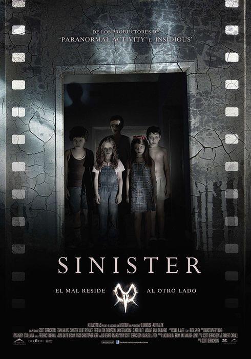 Cartel oficial en español de: Sinister