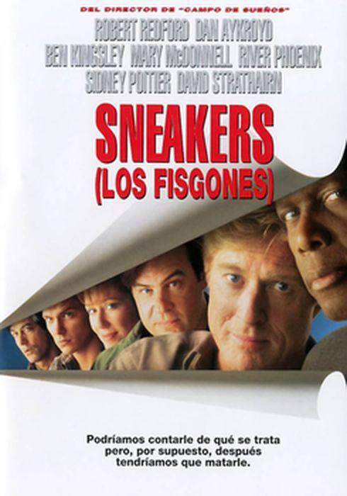 Cartel oficial en español de: Sneakers (Los fisgones)