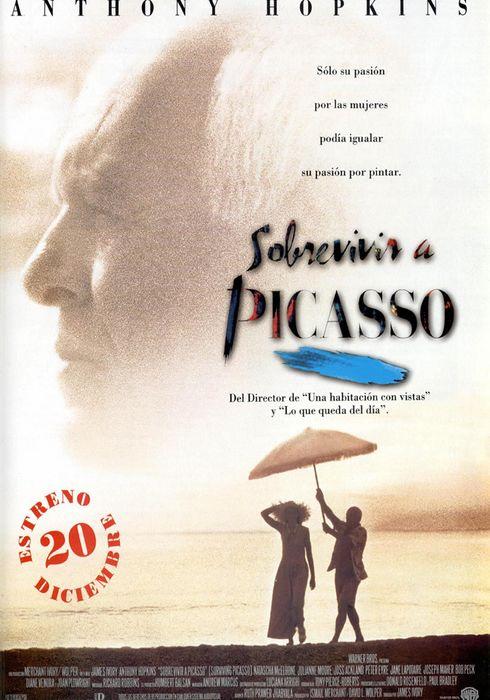 Cartel oficial en español de: Sobrevivir a Picasso