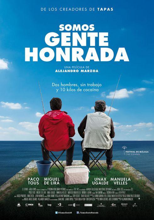 Cartel oficial en español de: Somos gente honrada