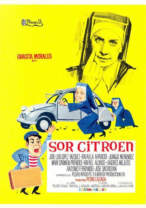 Cartel oficial en español de: Sor Citroën