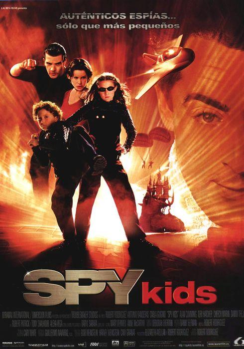 Cartel oficial en español de: Spy Kids