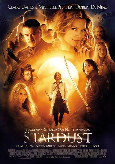 Cartel oficial en español de: Stardust