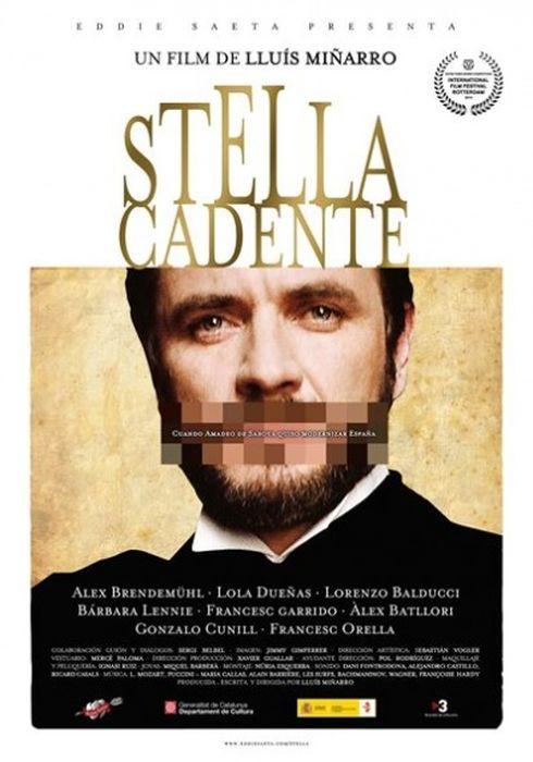 Cartel oficial en español de: Stella cadente