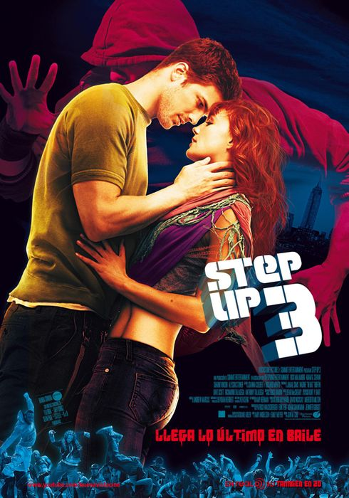 Cartel oficial en español de: Step up 3
