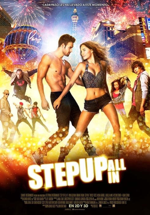 Cartel oficial en español de: Step Up: All In