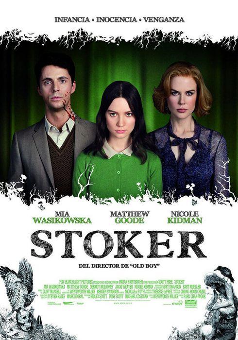 Cartel oficial en español de: Stoker