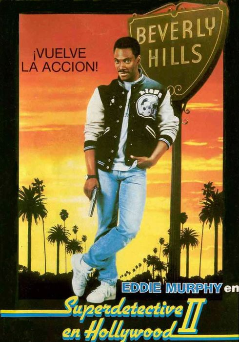 Cartel oficial en español de: Superdetective en Hollywood II
