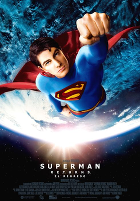 Cartel oficial en español de: Superman Returns