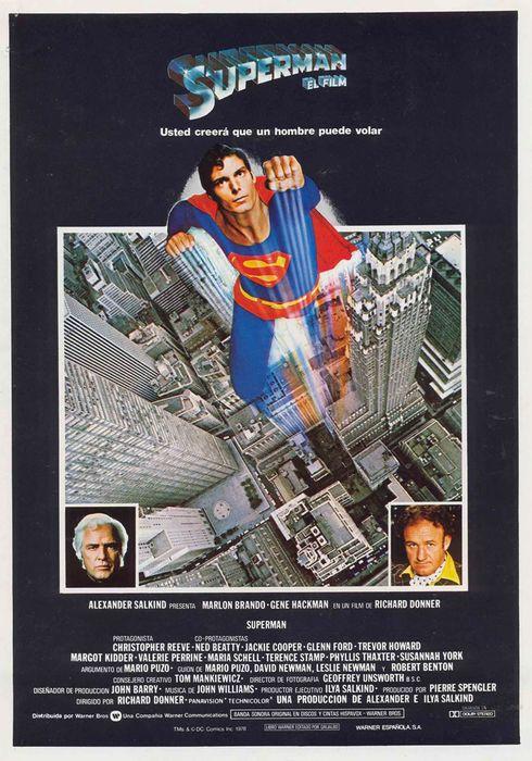 Cartel oficial en español de: Superman