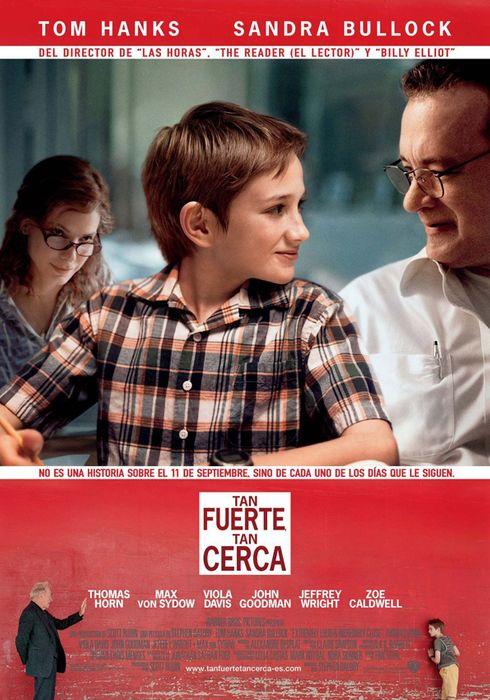 Cartel oficial en español de: Tan fuerte, tan cerca