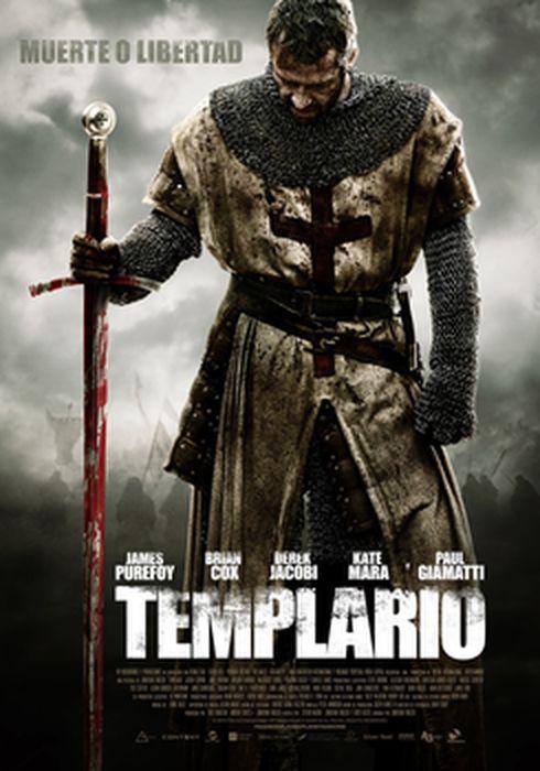 Cartel oficial en español de: Templario