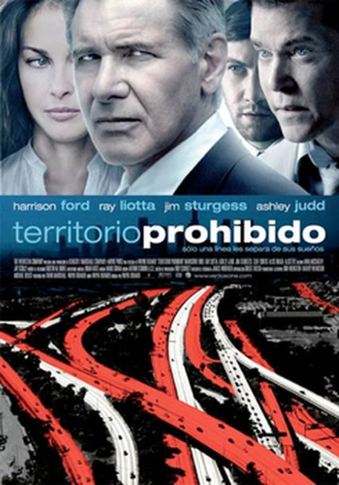 Cartel oficial en español de: Territorio prohibido