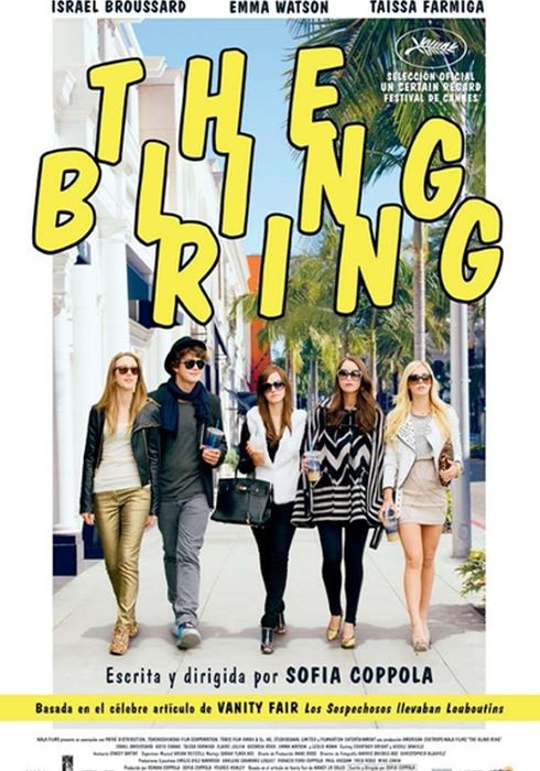 Cartel oficial en español de: The Bling Ring