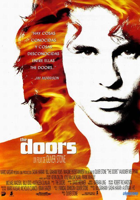 Cartel oficial en español de: The Doors