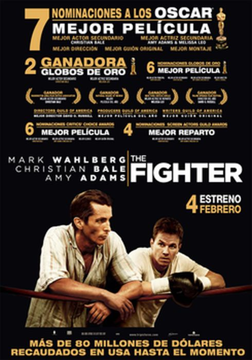 Cartel oficial en español de: The Fighter