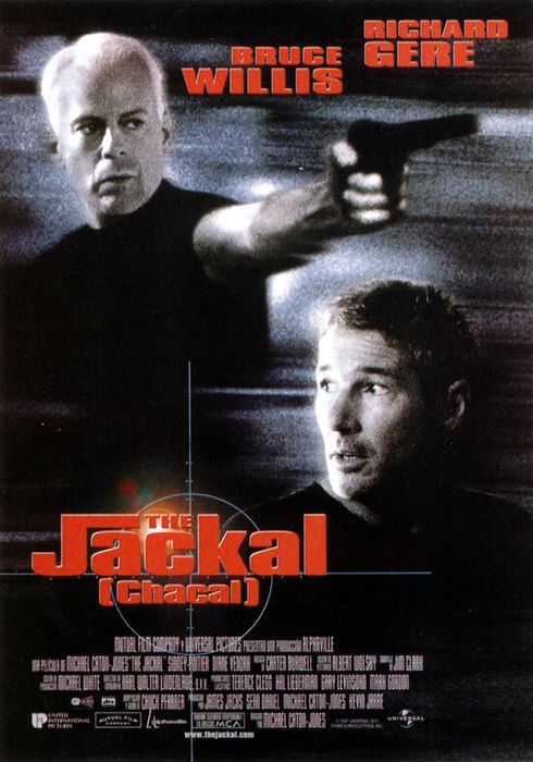 Cartel oficial en español de: The Jackal (Chacal)