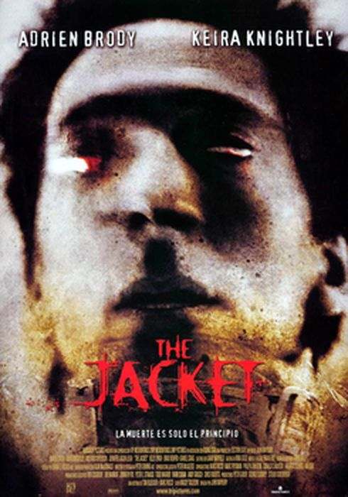 Cartel oficial en español de: The jacket