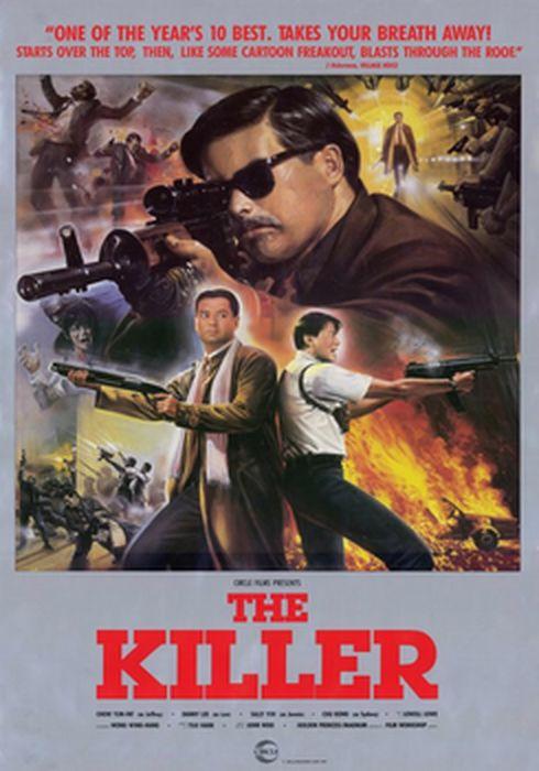 Cartel oficial en español de: The Killer