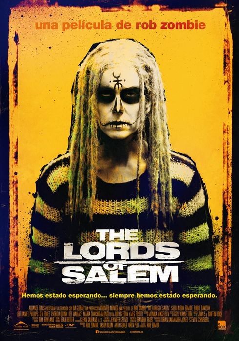 Cartel oficial en español de: The Lords of Salem