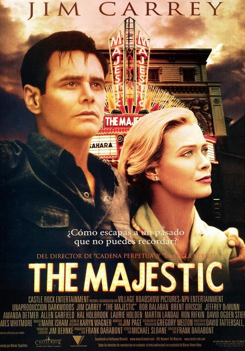 Cartel oficial en español de: The Majestic