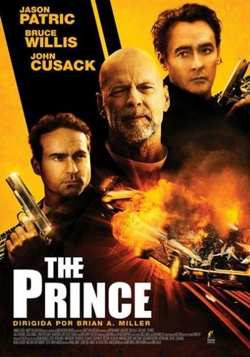 Cartel oficial en español de: The Prince